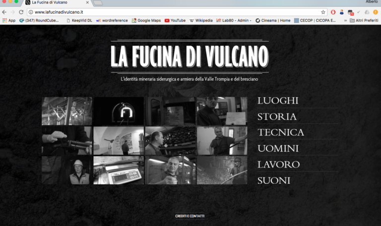www.lafucinadivulcano.it